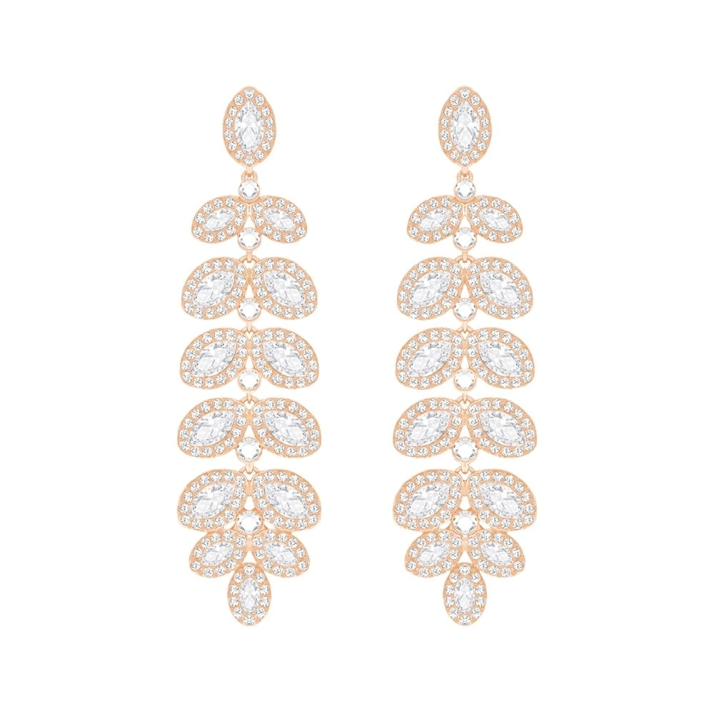 b095f97f7a Swarovski Baron Rose Gold Plated Earrings - Jewellery from Faith ...
