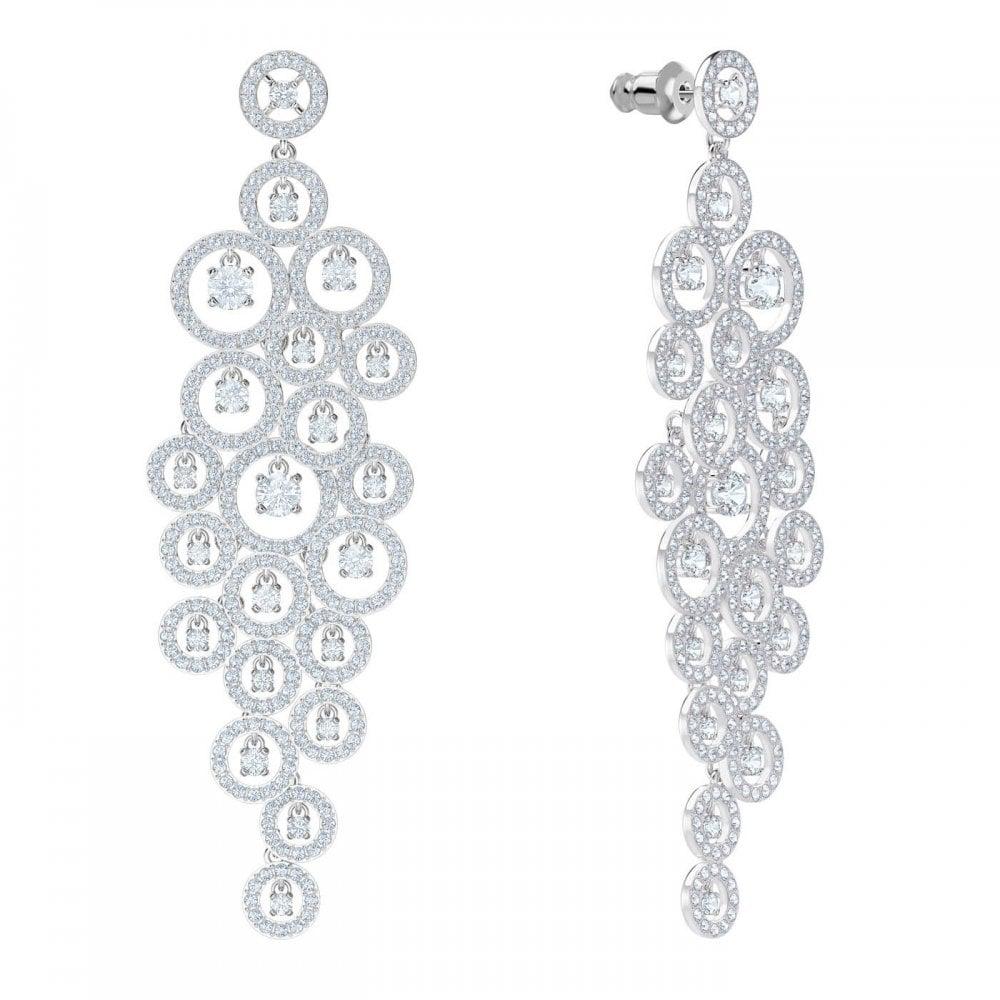 71787ab40cee31 Swarovski Creativity Silver Crystal Earrings - Jewellery from Faith ...