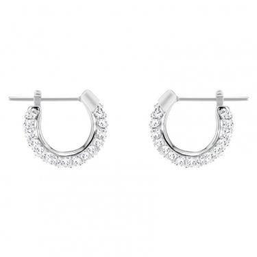 435c508c1d Swarovski Crystal Hoop Earrings