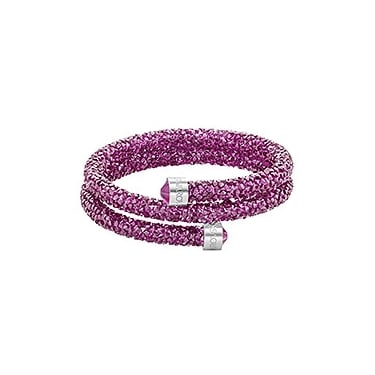 dad520c4fb6d Swarovski Crystaldust Double Bangle Pink