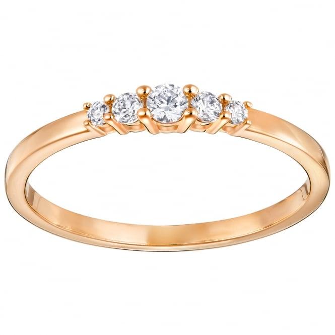 Swarovski Frisson Rose Gold Ring - Jewellery from Faith ...