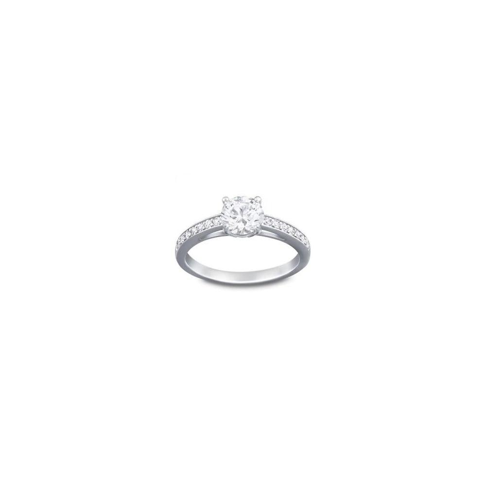 Swarovski Jewellery Attract Ring - Jewellery from Faith Jewellers UK 6828d87526