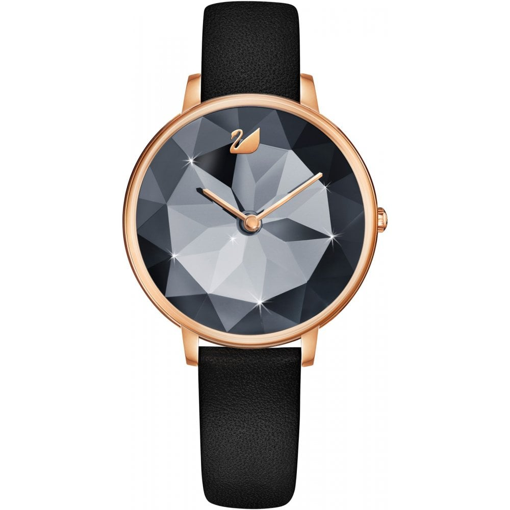 6d1ec3059 Swarovski Ladies Black Crystal Lake Watch - Watches from Faith ...
