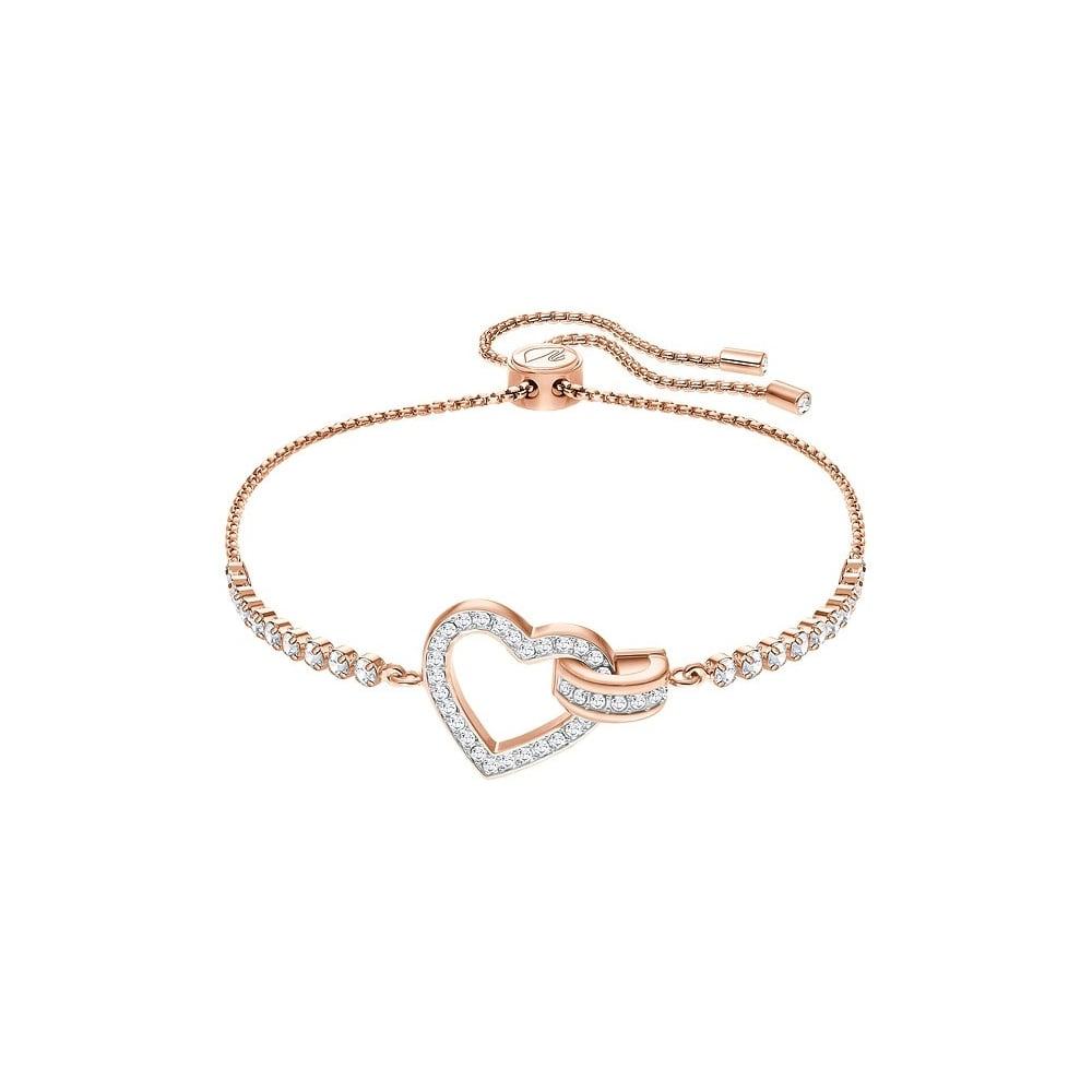 2019 hot sale save off fashionablestyle Lovely Heart Rose Gold Bracelet