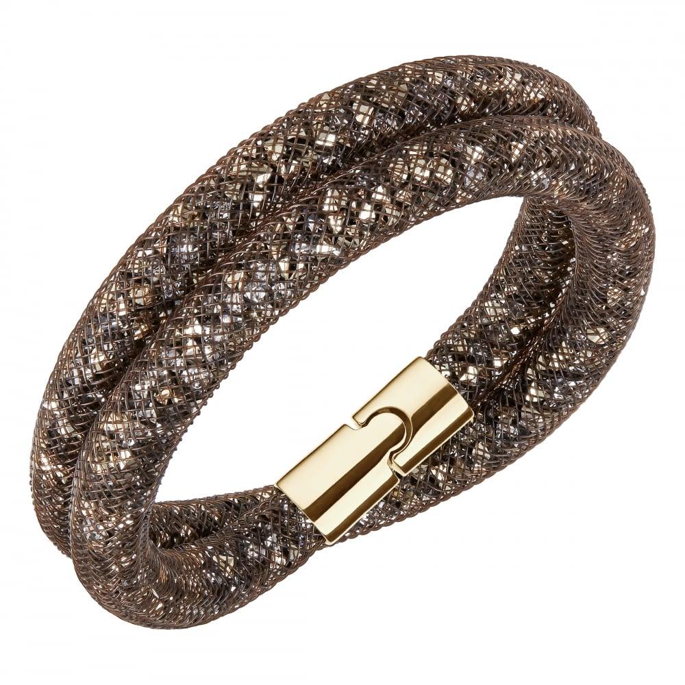 9d890db2c004f Swarovski Swarovski Stardust Brown Bracelet