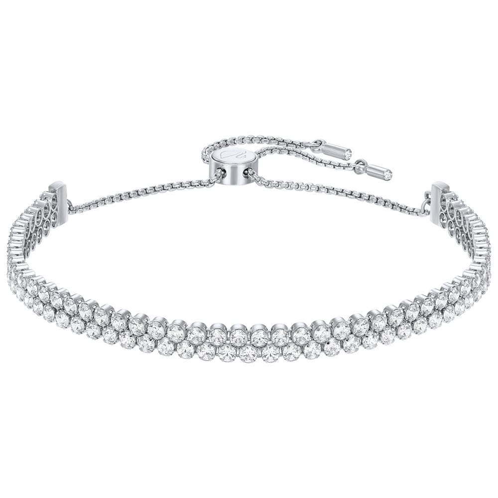 Swarovski Subtle Silver Bracelet Jewellery From Faith Jewellers Uk
