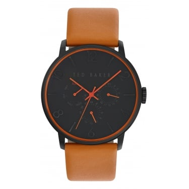 Ted Baker Gents Black Dial Watch