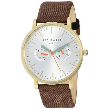 Ted Baker Gents Brown Brit Watch