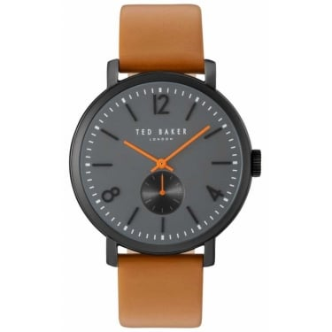 Ted Baker Gents Brown Leather Oliver Watch