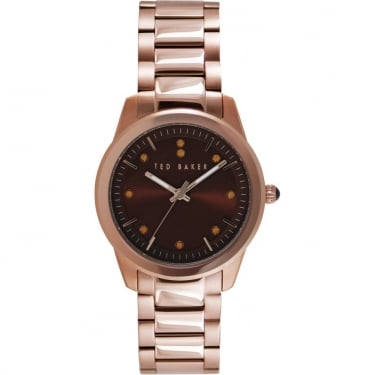 Ted Baker Ladies Brown Watch