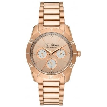 Ted Baker Ladies Rose Gold Watch