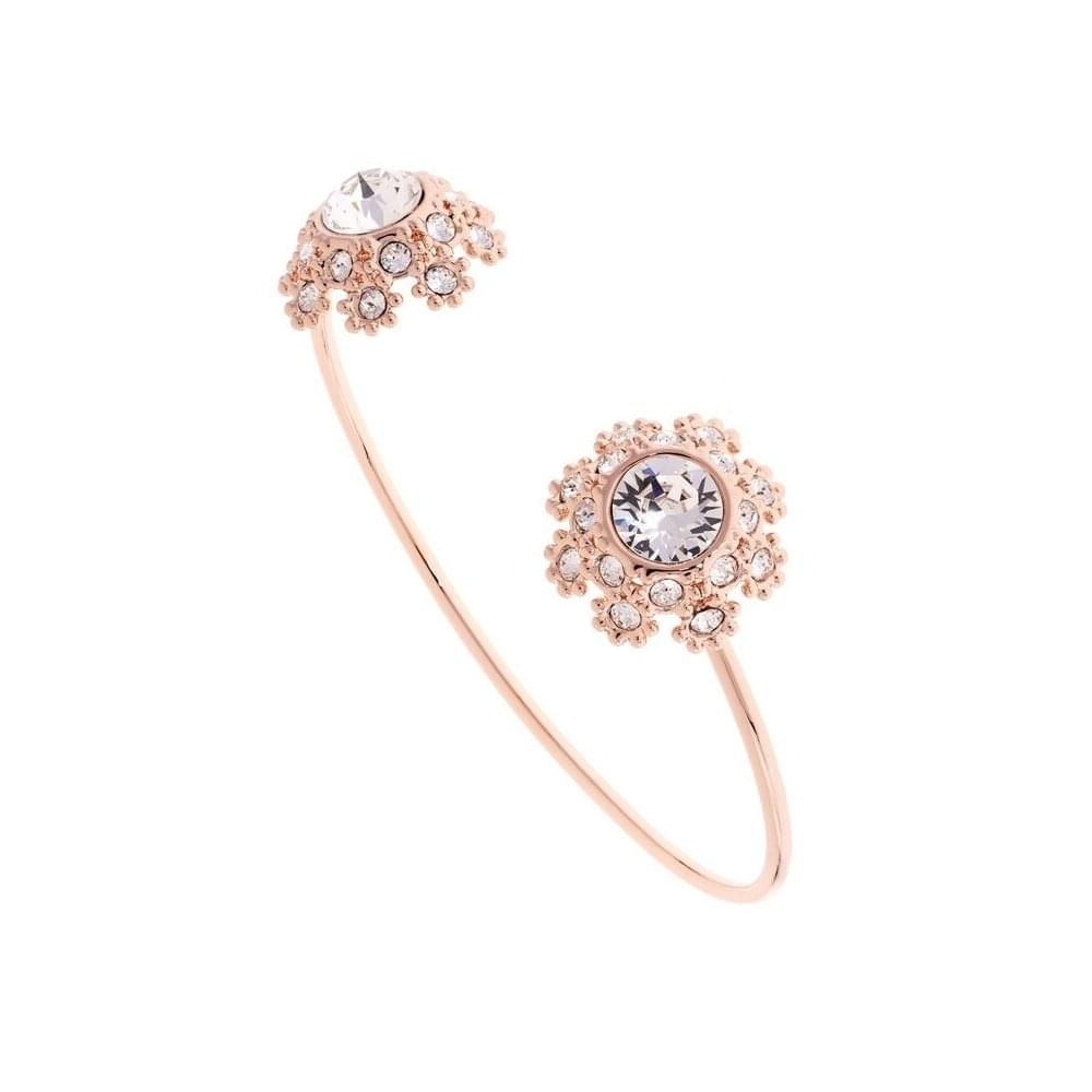 super cute wide range release info on Ted Baker Rose Gold Plated Seniie Crystal Daisy Lace Bangle ...