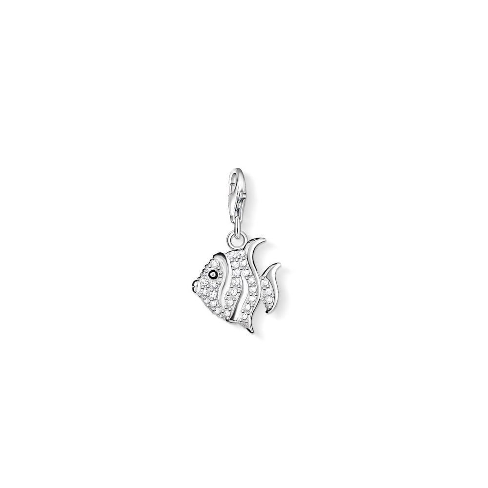 thomas sabo charm sterling silver fish jewellery from. Black Bedroom Furniture Sets. Home Design Ideas
