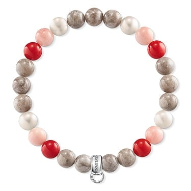 Thomas Sabo Multi Coloured Beaded Bracelet 16cm