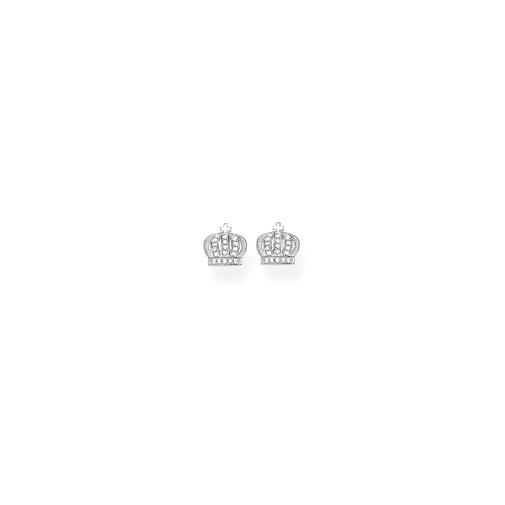 jewellery greed zoom women john stud crown earrings pandora