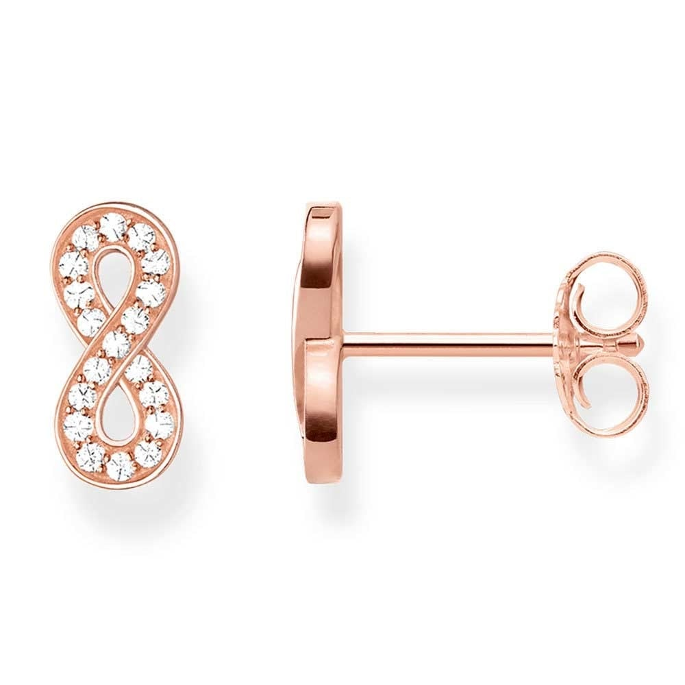wall infinity studs evalisse gold basement arlizi ear cz s stud diamond earrings