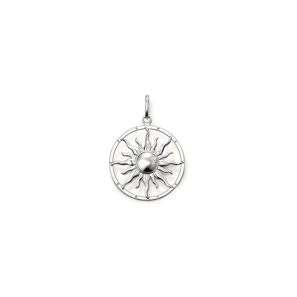 Thomas sabo sterling silver sun pendant jewellery from faith thomas sabo sterling silver sun pendant mozeypictures Images
