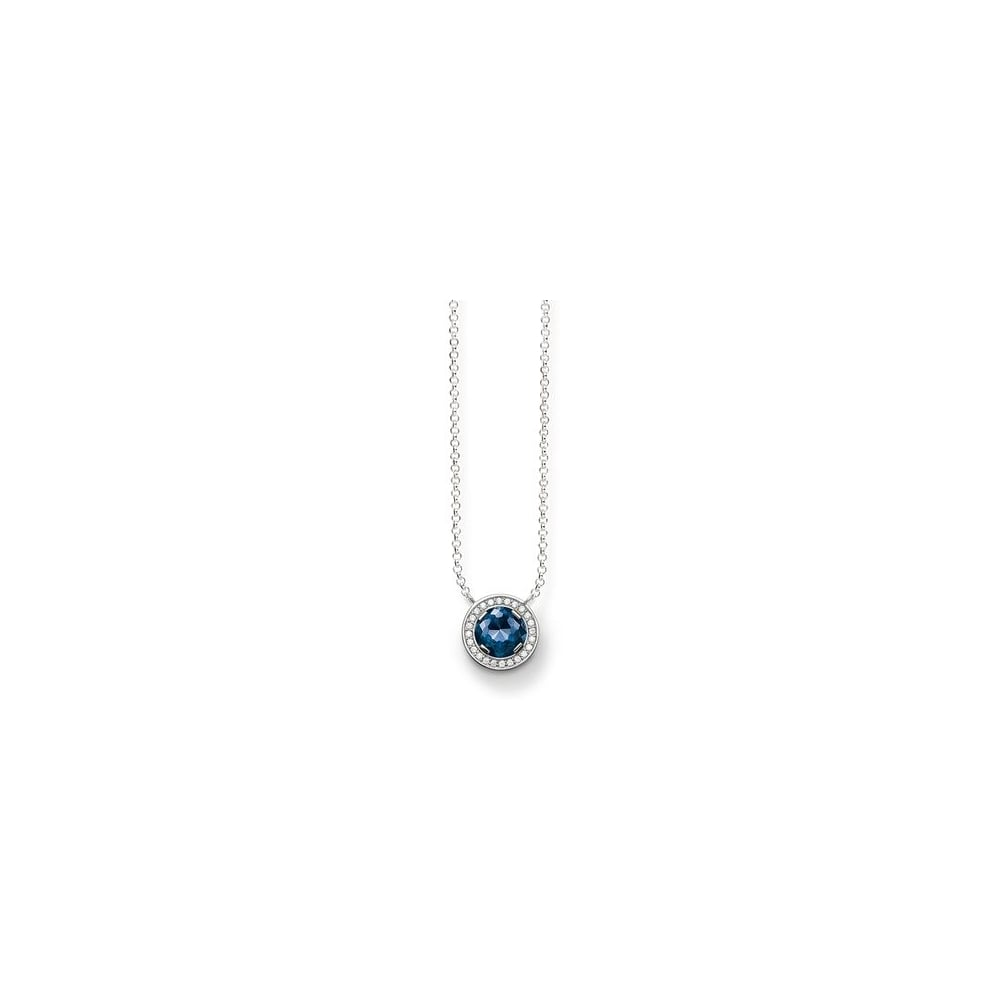 blue jewellery kern dyrberg image lone light necklace