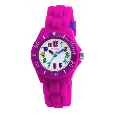 Tikkers Pink Strap Watch