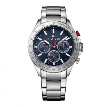 Tommy Hilfiger Gents Hudson Blue Faced Watch
