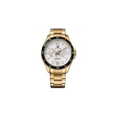 Tommy Hilfiger Gents Yelow Gold Watch