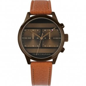 c9e05bb1e Kenneth Cole Watch Gents Brown Leather Strap - Watches from Faith ...