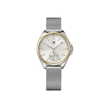 Tommy Hilfiger Ladies Ava Two Tone Mesh Strap Watch