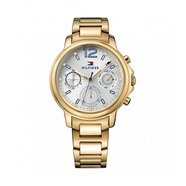 Tommy Hilfiger Ladies Claudia Gold Watch