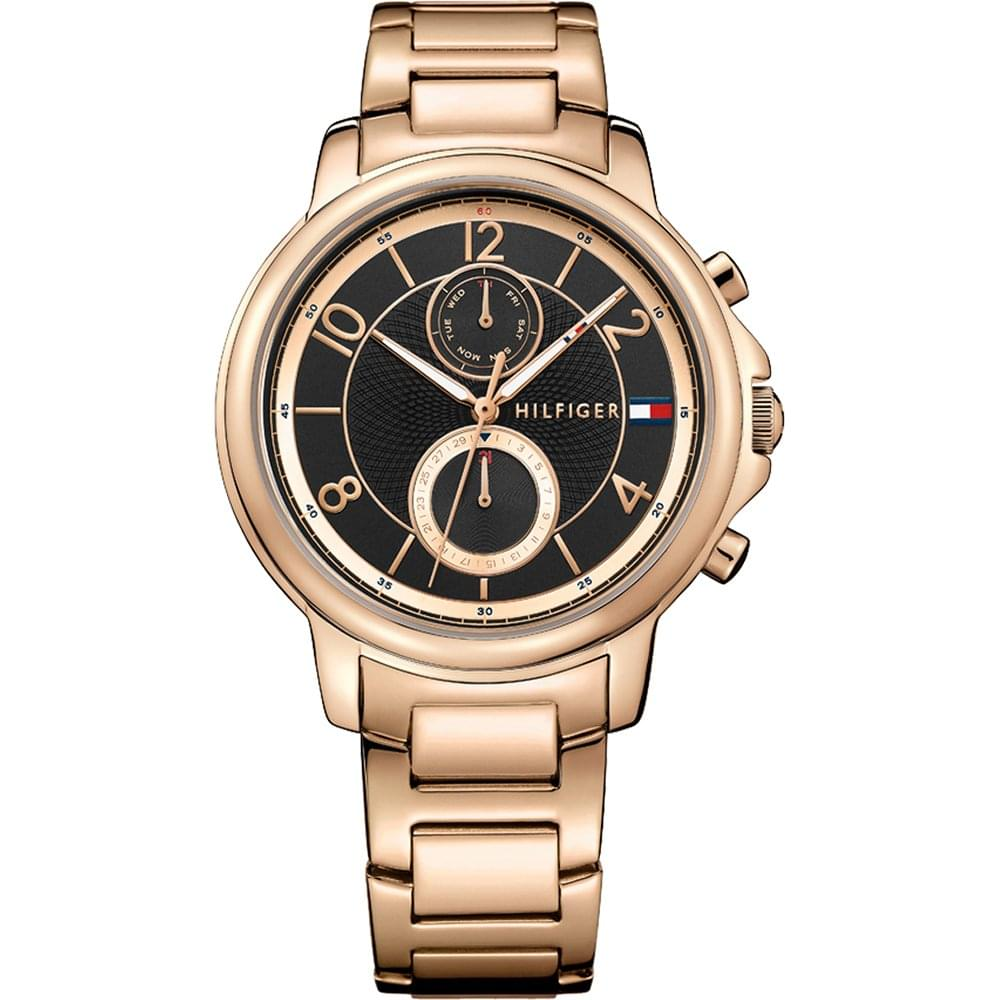 5008765b3fde7 Tommy Hilfiger Ladies Claudia Rose Gold Watch - Women's Watches from ...