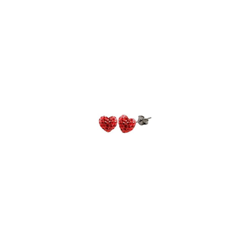 sour cherry strawberry earrings stud large img glitter