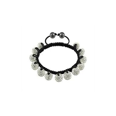 Tresor Paris White Crystal Bracelet