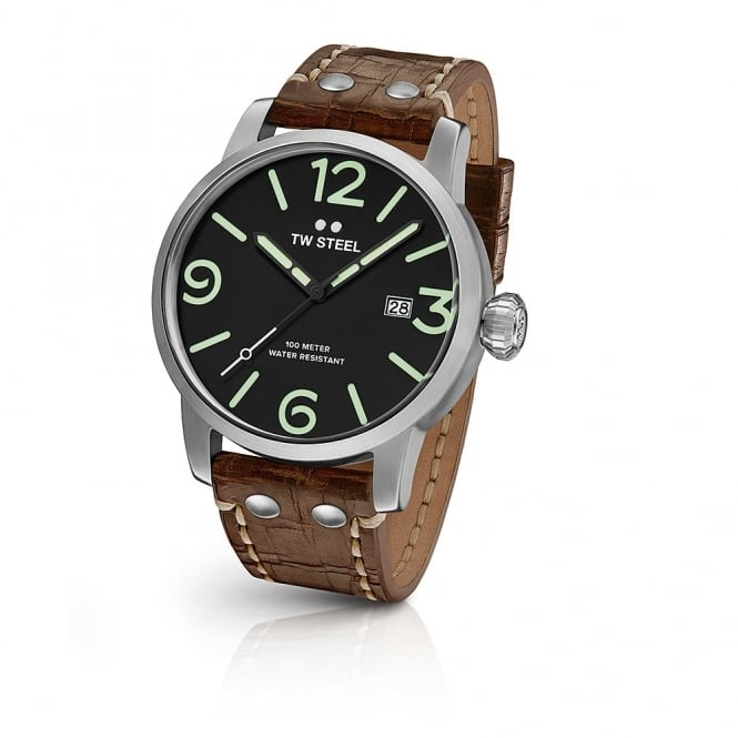 TW Steel Gents Maverick Brown Leather Watch