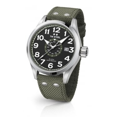 TW Steel Gents Volante Military Grey Watch
