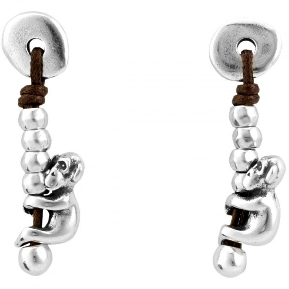 Uno De 50 UNO De 50 Silver Monkey Earrings - Jewellery from Faith ... 69da35658a